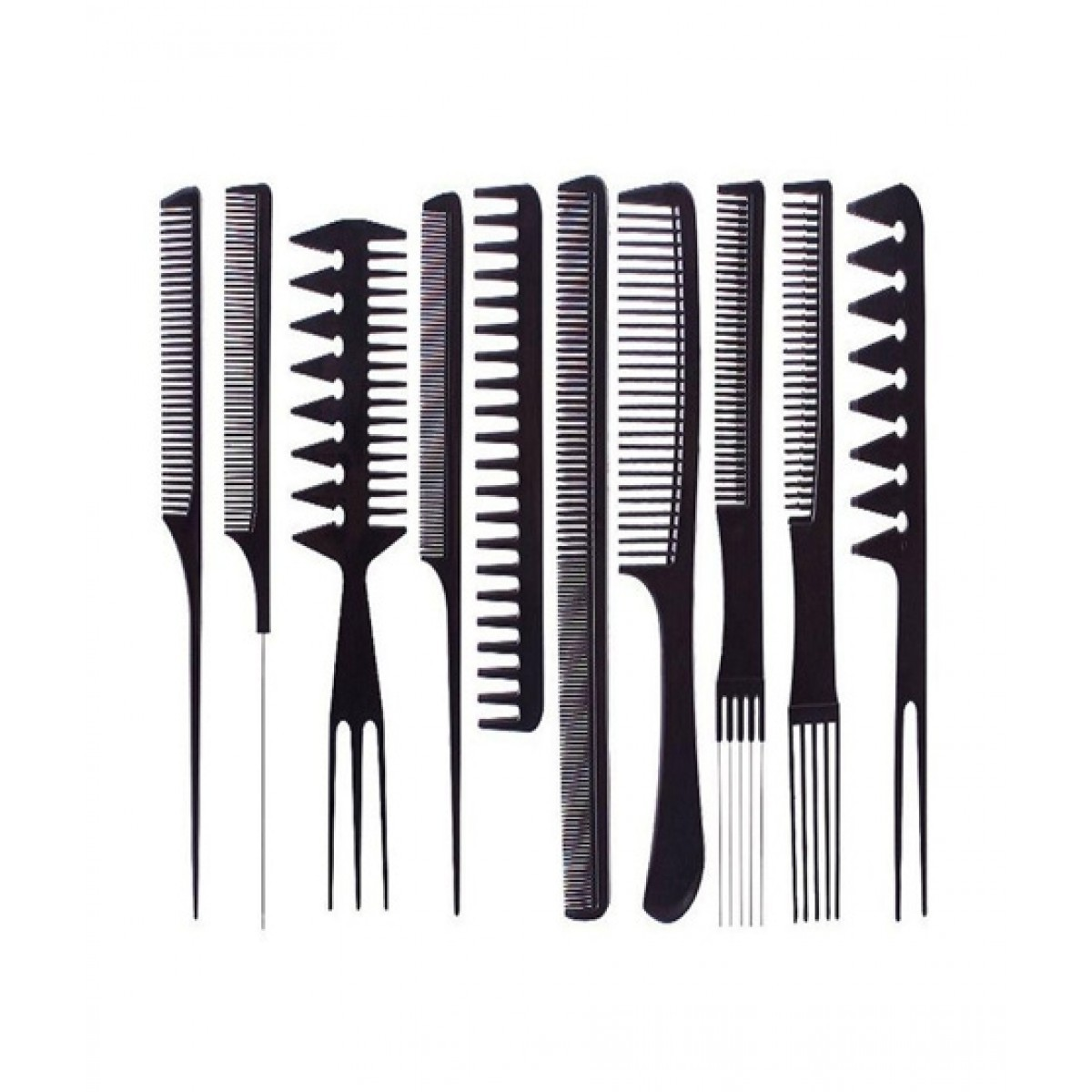 Parlour & Salon Use Hair Comb Set