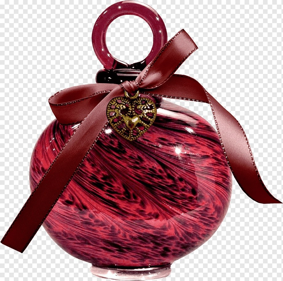 Red Christmas bauble ball